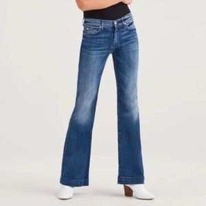 7 for all Mankind Dojo Blue Denim Jeans